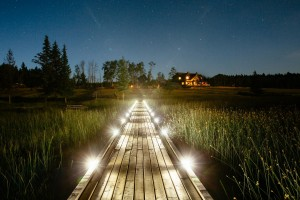 Siwash Lake Wilderness Resort- Boardwalk