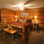 bedroom suite at three bars ranch
