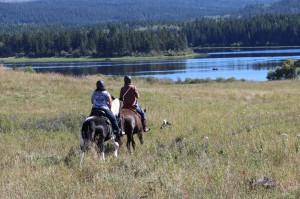 Trail Ride open Range Kamloops BC