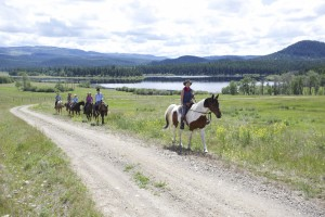Adventurous trail ride Kamloops