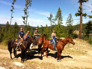 Hosli Lake trail ride